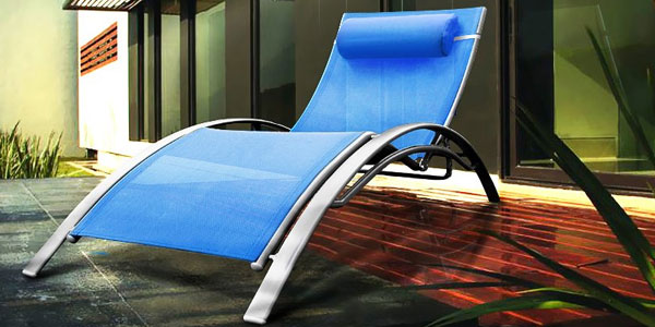 Sun lounger blue buy sun lounger blue - Destockage bain de soleil ...
