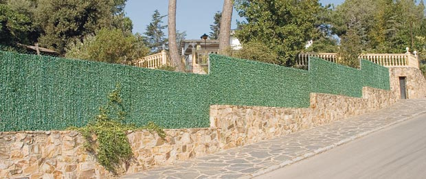 Artificial hedge Campovert - Screen and concealment