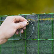 Screen in woven matting Supratex � Privacy screening
