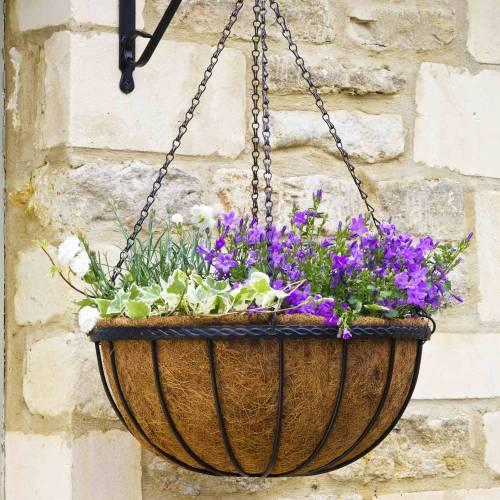 Smart Garden 40cm Coco Hanging Basket Liner