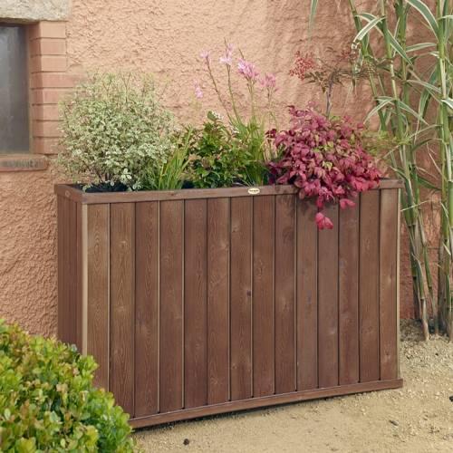 design high rectangular wooden planter buy design high. Black Bedroom Furniture Sets. Home Design Ideas