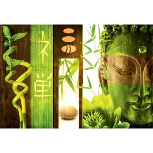 Outdoor Canvas Wall Art - Green Buddha : buy Outdoor Canvas Wall Art ...