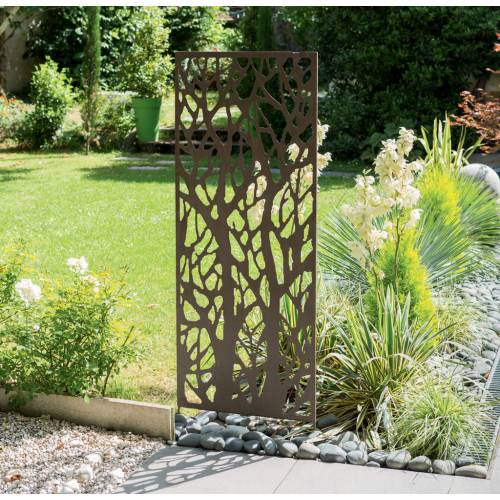 Decorative Trellis In Metal   Forest   0,6 X 1,5 M