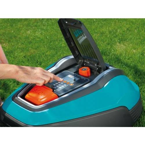 robotic lawnmower r70li gardena buy robotic lawnmower r70li gardena. Black Bedroom Furniture Sets. Home Design Ideas