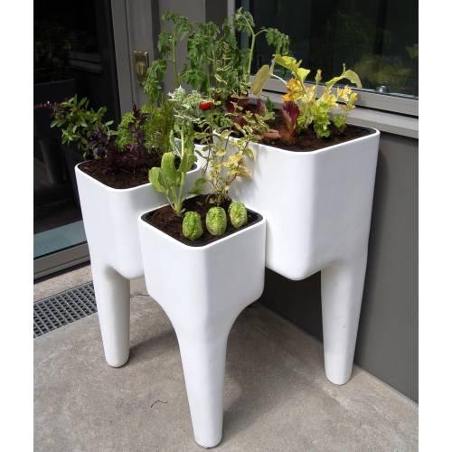 Kiga kitchen garden table xl hurbz buy kiga kitchen - Potager sur balcon terrasse ...