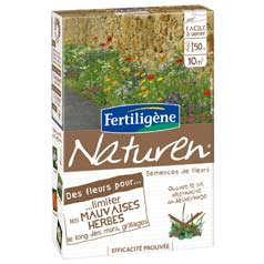 Flowers for reducing the growth of weeds - Naturen