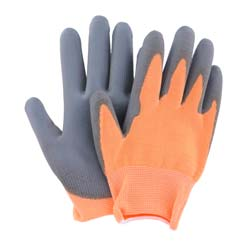 Balcony and patio gloves for children - Orange