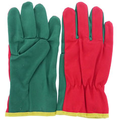 Canvas gloves for children