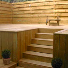 Decking – Treated Pine - Small or no knots