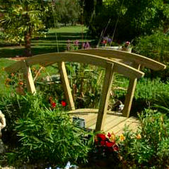 Buy wooden garden structures for Japanese garden structures wood