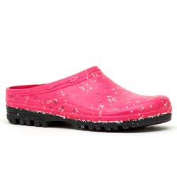 Garden clogs in rubber Fuchsia