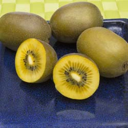 Kiwi with yellow pulp