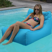 Inflatable Sun lounger KIWI – Turquoise-Sunvibes