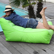 Inflatable Sun lounger KIWI – Green-Sunvibes