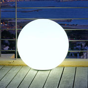Luminous, White Ball - mains powered - Ø 40 cm