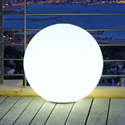 Luminous, White Ball - mains powered - Ø 50 cm