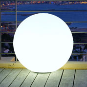 Luminous, White Ball - mains powered - Ø 60 cm