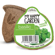 Ready to plant capsule - Basil - My Happy Garden