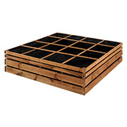 Wooden Square Foot Garden