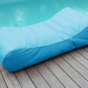 Inflatable Sun lounger WAVE – Turquoise-Sunvibes