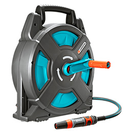 Hose Reel, Portable 15 - Complete Kit - Gardena