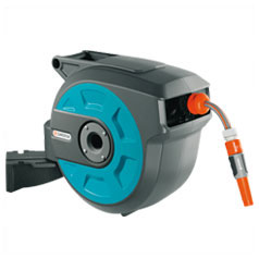 Hose Reel, Wall-Mounted Automatic - 25 m - Gardena
