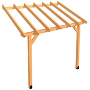 Lean-to Wood Pergola 3 x 2 m