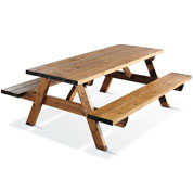 Wooden Picnic Table GARDEN 200B