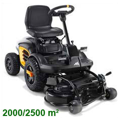 Ride on Front Mower M125-85FH - McCulloch