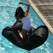 Inflatable Chair - Black - Sunvibes