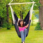 Hanging Chair 160 x 130 cm - Brasil Black