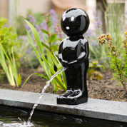 Garden Fountain BOY - H.45 cm - Black - Ubbink