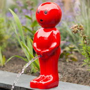 Garden Fountain BOY - H.45 cm - Red - Ubbink