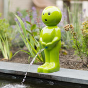 Garden Fountain BOY - H.67 cm - Green - Ubbink