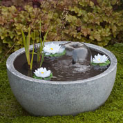 Garden Fountain VAUVERT Grey - Ubbink
