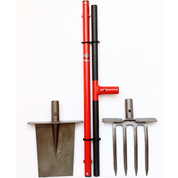 Digging Fork-Spade with extra-long handle - EDT