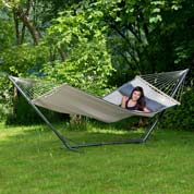 Hammock with Spreader Bar 200 x 120cm - Dream Sand