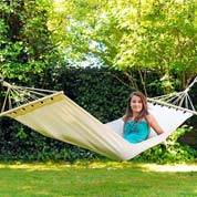 Hammock with Bars 200x80cm - Tobago - Amazonas