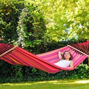 Hammock with Bars 200x100cm-Tonga Vulcano-Amazonas