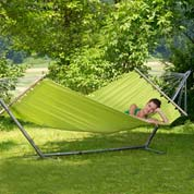 Hammock with Spreader Bar 220 x 120 cm- Miami Kiwi