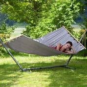 Hammock with Spreader Bar 220 x 120 cm- Miami Sand