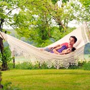 Hammock with Bars 240x160 cm - Palacio - Amazonas