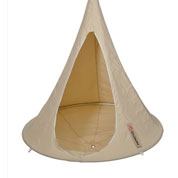 Suspended Hammock - Child Cacoon - White