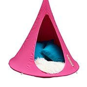 Suspended Hammock - Child Cacoon - Fuchsia