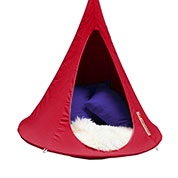 Suspended Hammock - Child Cacoon - Red