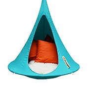 Suspended Hammock - Child Cacoon - Turquoise