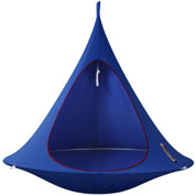 Suspended hammock - Double Cacoon - Blue