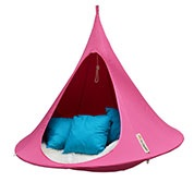 Suspended Hammock - Double Cacoon - Fuchsia