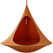 Suspended Hammock - Double Cacoon - Orange