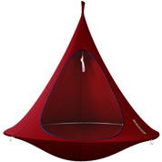 Suspended Hammock - Double Cacoon - Red